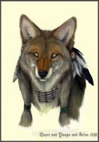 'Choclate' Coyote by Grion