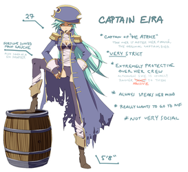 RO: Captain Eira by resaki
