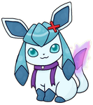 Drizzle the Glaceon by Drizzle-The-Glaceon
