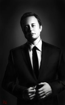 Elon Musk by Rhyn-Art