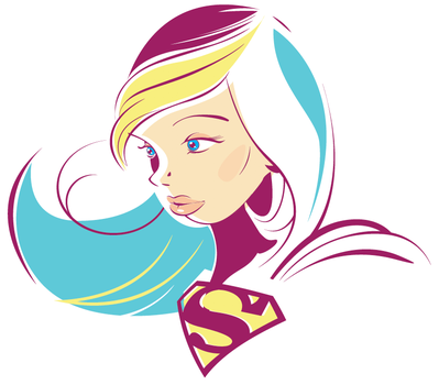 Supergirl by daabcreative