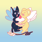 Kero n Spinel by faundly