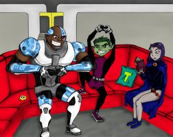 Mega Monkeys 3(..or How to Annoy Raven w/o Trying) by MissSelinaKyle