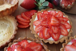 Fruit Tartlets by ChantalduPlessis