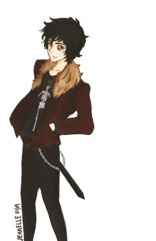 Nico Di Angelo by zjeanelle