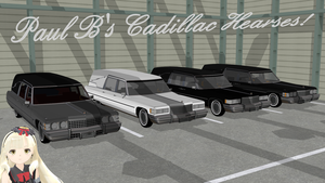 [MMD] Paul B's Cadillac Hearses DL by MichaelOKeefe1991