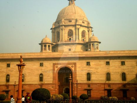 Indian Parliament Building by Savanah25