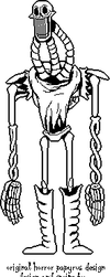 Horror papyrus sprite by Addicted2Electronics
