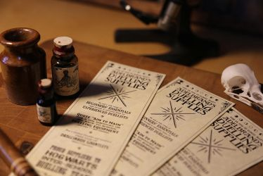 Harry Potter - Duelling Supplies Flyer (b) by pocko-85