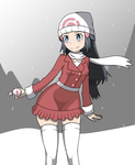 Pokemon - Platinum Alt. Winter Outfit by ScylesTheDespaired