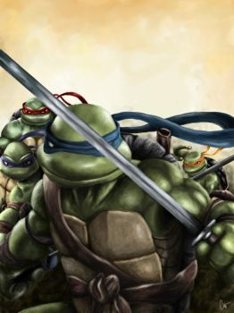 The Turtles by ClintostheGreat