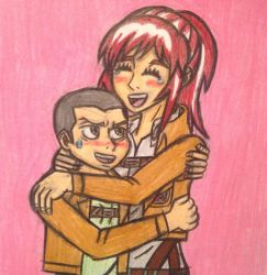 Springles huggles by angry-toon-link