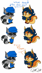 What does the fox say? by Mimisia2367
