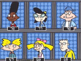 Hey Arnold on 1 vs 100 by DJgames
