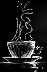 Coffe Cup by StefanMarcuArt