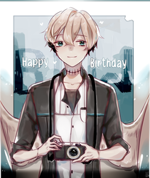 .: HBD :. Photogenic by EnaMei