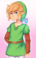 Link and a Maiamai by Cherimsy