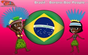 Chibi Bororo Boe People, Brazil - Animondos - by Dougieus