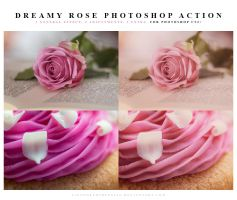 Dreamy rose Photoshop Action by meganjoy