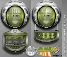 Official VAGDesign WinAMP by makrivag