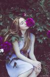 Serena at the Botanical Garden X by Michela-Riva