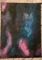 Inspirational Galaxy Art - undecided by TyTheNaught