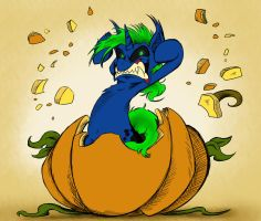 Halloween Commission - Explosion by Pimander1446