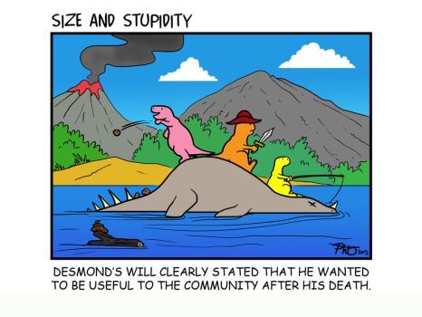 Floaters by Size-And-Stupidity