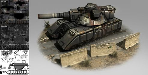 Low poly tank by Talros