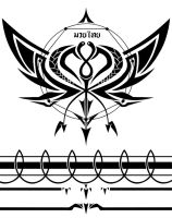 Scar Array Tattoo Design by TheRealLehel