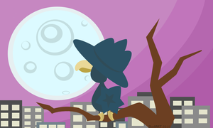 Murkrow Night  [Edit: Added to Redbubble]