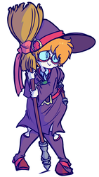 Little Witch Lotte by CRLryanstorm