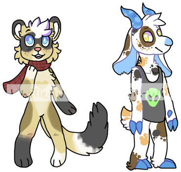 Adopts! (0/2 OPEN) by Waffle-W01f