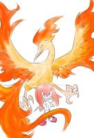 Moltres and Knuckles
