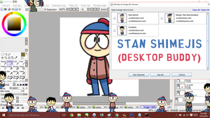 Shimeji Pack- Stan Marsh (South Park) by scenikeight
