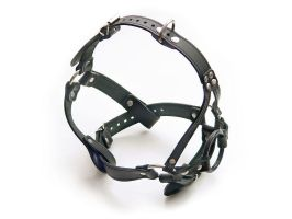 Harness gag ring + ball by Me-Se