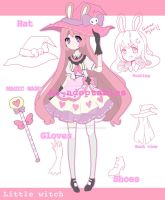 Little bunny witch adoptable closed by AS-Adoptables