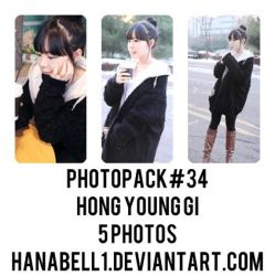 Photopack#34 Hong Young Gi by HanaBell1