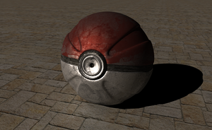 Realistic Pokeball 2 by FinnAkira
