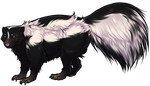 Skunk Companion by TokoTime