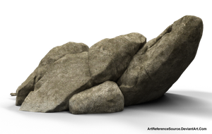 Free PNG:  boulders by ArtReferenceSource