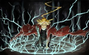 Alchemic Reaction - Edward Elric by KotoriShiro