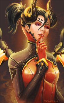Devil Mercy by rchella