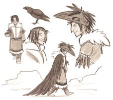 Tulugaq sketches by Inonibird