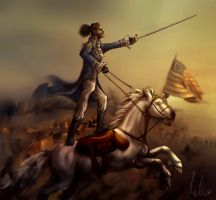 America's Favorite Fighting Frenchman by Madvie