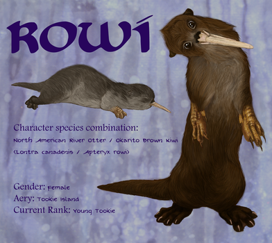 Rowi Character Profile by Marbletoast