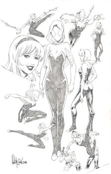 Spider-Gwen by Dhutchison