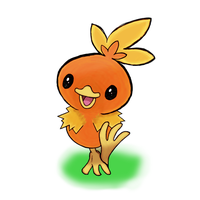 Torchic: A Bright Day by Silver122