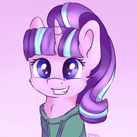 Glimmer with hoodie by Dbleki