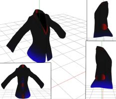 mmd male funky shirt by RoxaDragonsoul